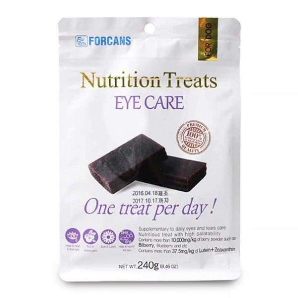 Forcans Forcans Nutrition Treats Eye Care 240g bag Dog Healthcare