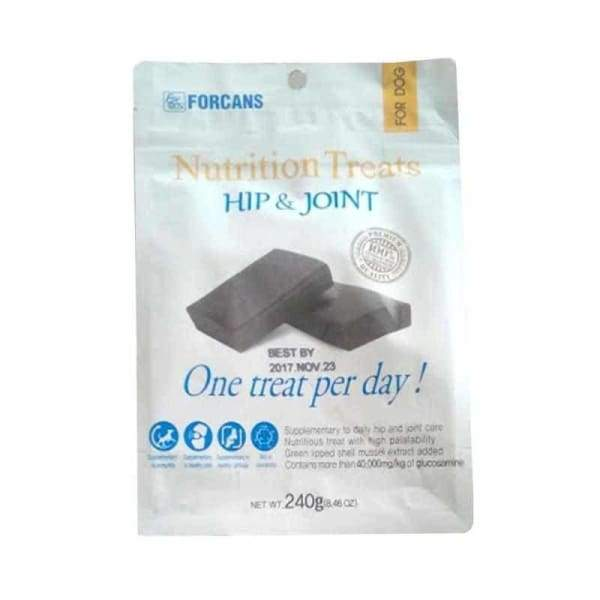 Forcans Forcans Nutrition Treats Hip & Joint 240g bag Dog Food & Treats