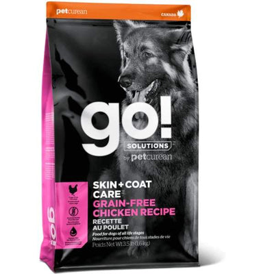 Go! GO! Solutions Skin & Coat Care Grain Free Chicken Recipe Dry Dog Food Dog Food & Treats