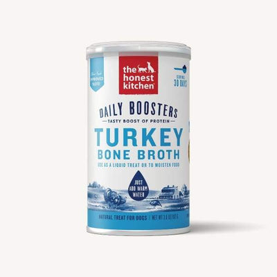 The Honest Kitchen The Honest Kitchen Daily Boosts Instant Turkey Bone Broth with Turmeric 3.6oz Dog Food & Treats