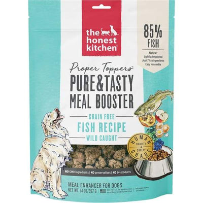 The Honest Kitchen The Honest Kitchen Proper Toppers Grain Free Fish Recipe Meal Topper 5.5oz Dog Food & Treats