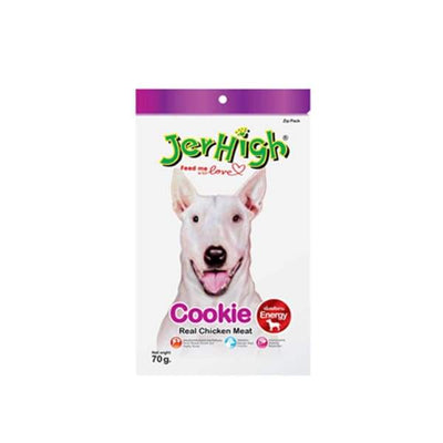 JERHIGH Jerhigh Cookie Chicken Dog Treat 70g [3 FOR $10] Dog Food & Treats
