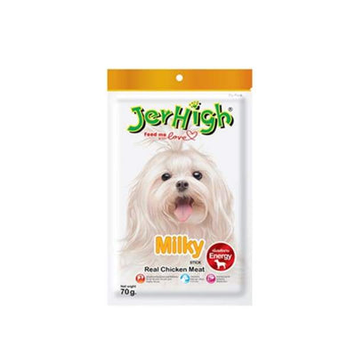JERHIGH Jerhigh Milky Stick Dog Treat 70g [3 FOR $10] Dog Food & Treats