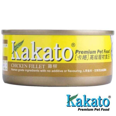 Kakato Kakato Chicken Fillet Canned Dog & Cat Food 70g & 170g Dog Food & Treats