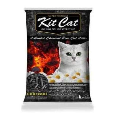 Kit Cat Kit Cat Activated Charcoal Pine Cat Litter 20lb Cat Litter & Accessories