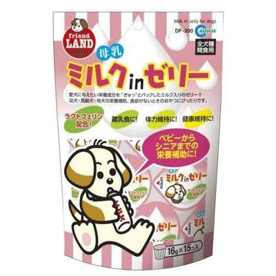 Marukan Marukan Milk Jelly Dog Treats (Mothers Milk) 16GX15PCS Dog Food & Treats