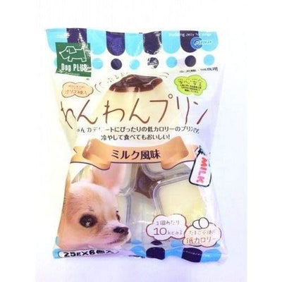 Marukan Marukan Milk Pudding Jelly For Dogs (25G X 6PCS) Dog Food & Treats