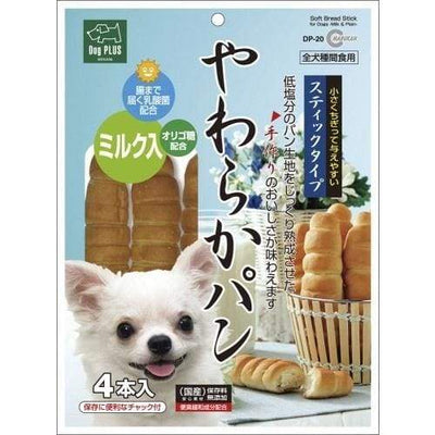 Marukan Marukan Plain Milk Soft Bread Sticks Dog Food & Treats