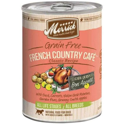 Merrick Merrick Classic Grain-Free French Country Cafe Canned Dog Food 374g Dog Food & Treats