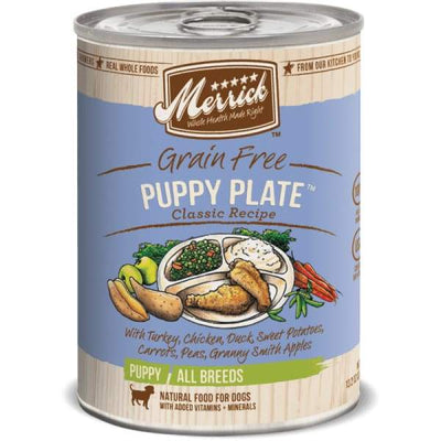 Merrick Merrick Classic Grain-Free Puppy Plate Canned Dog Food 360g Dog Food & Treats