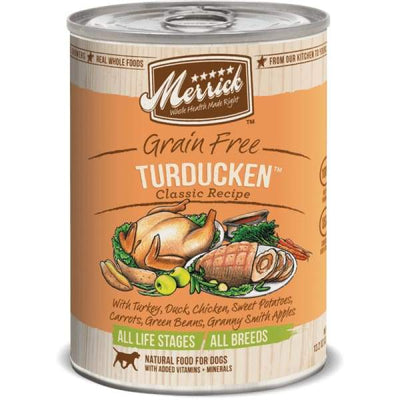 Merrick Merrick Classic Grain-Free Turducken Canned Dog Food 374g Dog Food & Treats