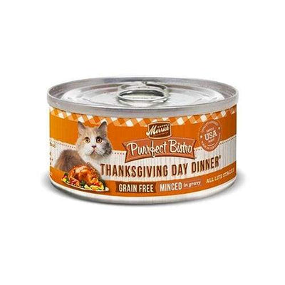Merrick Merrick Purrfect Bistro Grain Free Thanksgiving Day in Gravy Canned Wet Cat Food Cat Food & Treats