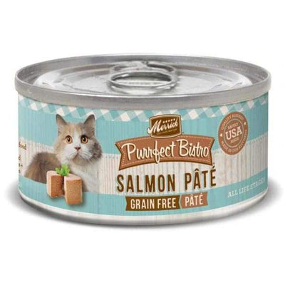 Merrick Merrick Purrfect Bistro Grain-Free Salmon Pate Canned Cat Food 156g Cat Food & Treats