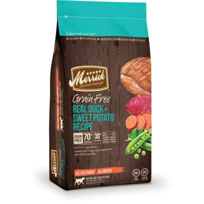 Merrick Merrick Grain Free Real Duck & Sweet Potato Dry Dog Food Dog Food & Treats