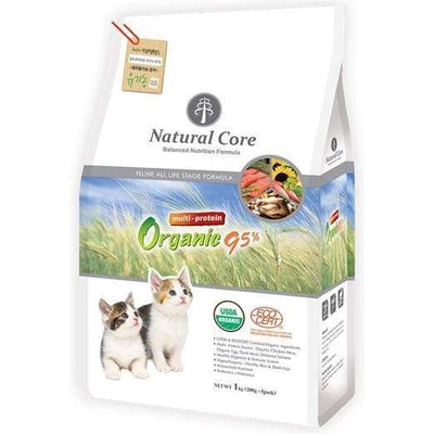 Natural Core Natural Core Multi Protein Organic 95% Dry Cat Food 1kg Cat Food & Treats