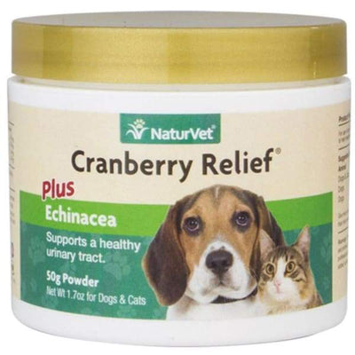 NaturVet NaturVet Cranberry Relief® Plus Echinacea Powder For Dogs & Cats 50g Dog Healthcare