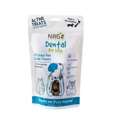 NRG+ NRG+ Active Dental Care Freeze Dried Dog Treats Dog Food & Treats