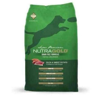 NutraGold [50% OFF] NutraGold Grain Free Duck & Sweet Potato Dry Dog Food Dog Food & Treats