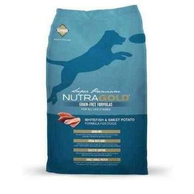 NutraGold [50% OFF] NutraGold Grain Free White Fish & Sweet Potato Dry Dog Food Dog Food & Treats