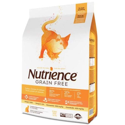 Nutrience Nutrience Grain Free Turkey Chicken & Herring Formula Dry Cat Food Cat Food & Treats