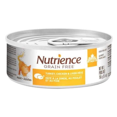 Nutrience Nutrience Grain Free Turkey Chicken & Liver Pate Canned Cat Food 156g Cat Food & Treats
