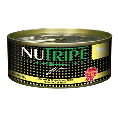 Nutripe Nutripe Fit Chicken & Green Lamb Tripe Canned Cat Food 95g Cat Food & Treats