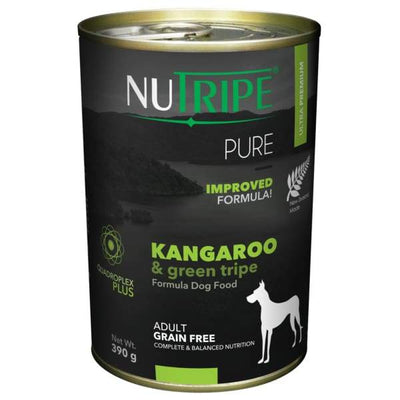 Nutripe Nutripe Pure Kangaroo & Green Tripe Formula Canned Dog Food Dog Food & Treats