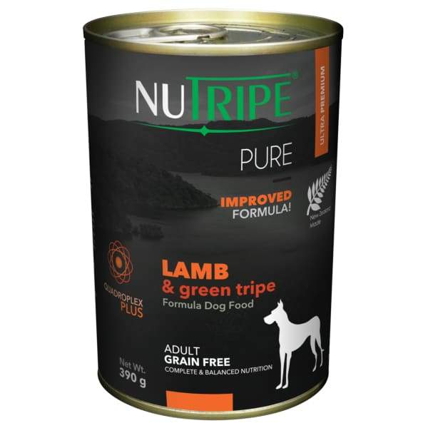Nutripe Nutripe Pure Lamb & Green Tripe Formula Canned Dog Food Dog Food & Treats