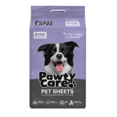 Pawty Care [BUY 1 GET 1 FREE] Pawty Care Pet Training Sheets S Size (100 Sheets) Dog Accessories