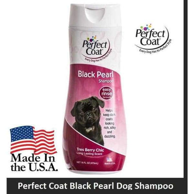 Perfect Coat Perfect Coat Black Pearl Dog Shampoo 16oz bottle Necessities