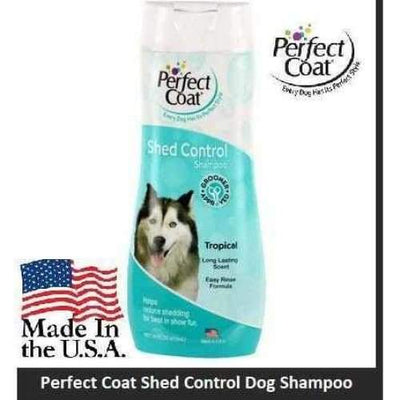 Perfect Coat Perfect Coat Shed Control Dog Shampoo 16oz bottle Necessities