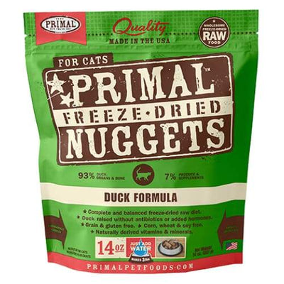 Primal [2 For $99] Primal Freeze Dried Duck Raw Cat Food Cat Food & Treats
