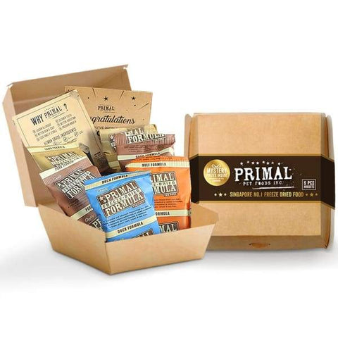 Primal Primal Freeze Dried Raw Nuggets Starter Kit for Dogs Dog Food & Treats