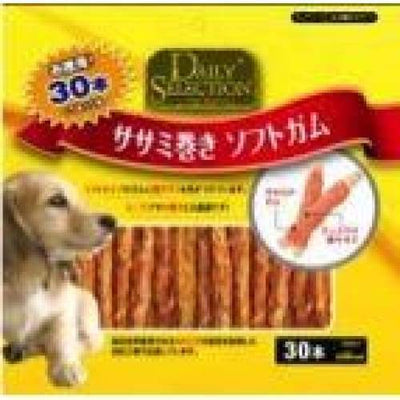 R&D [40% OFF!] R&D Daily Selection Chicken Roll Soft Stick Dog Treats (30pcs) Dog Food & Treats