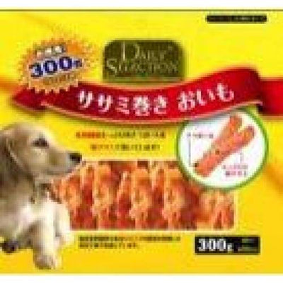 R&D [40% OFF!] R&D Daily Selection Chicken Roll Sweet Potato Dog Treats 300g Dog Food & Treats