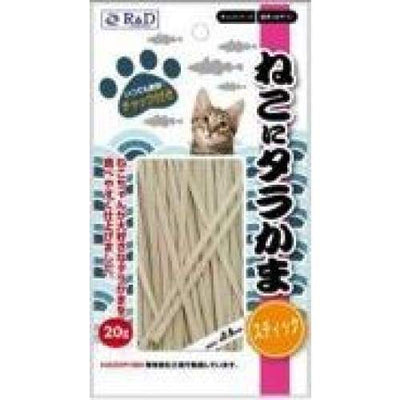 R&D R&D Pollack Surimi Bar Cat Treats 20g Dog Food & Treats