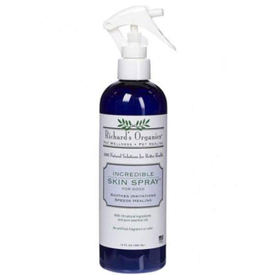 Richards Organics Richards Organics Incredible Skin Spray 12oz Dog Healthcare