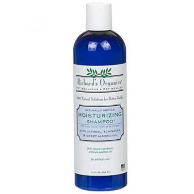 Richards Organics Richards Organics Moisturizing Shampoo 12oz Grooming & Hygiene