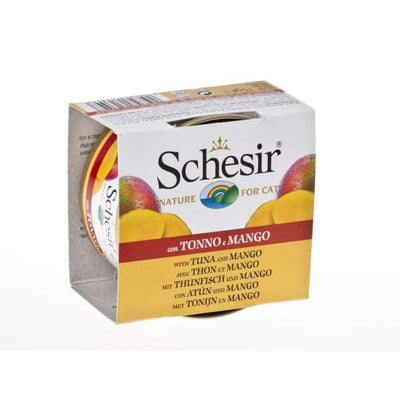 Schesir Schesir Tuna with Mango Canned Cat Food 75g Cat Food & Treats