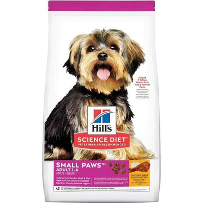 Science Diet [20% OFF] Science Diet Adult Small Paws Chicken Meal & Rice Recipe Dry Dog Food Dog Food & Treats