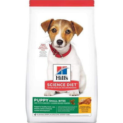Science Diet [20% OFF] Science Diet Puppy Small Bites Chicken & Barley Recipe Dry Dog Food Dog Food & Treats