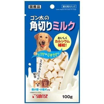 Sunrise Sunrise Milk Cubes Dog Treats 100G Dog Food & Treats