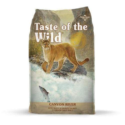 Taste of the Wild Taste of the Wild Canyon River with Trout & Smoked Salmon Dry Cat Food Cat Food & Treats