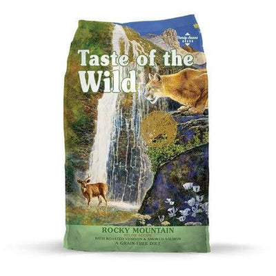 Taste of the Wild Taste of the Wild Rocky Mountain with Roasted Venison & Smoked Salmon Dry Cat Food Cat Food & Treats