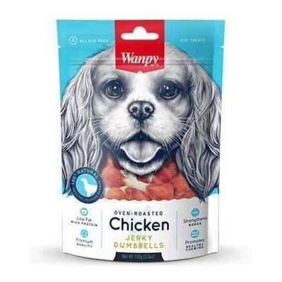 Wanpy Wanpy Oven-Roasted Chicken Dumbbells Dog Treats 100g Dog Food & Treats