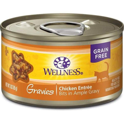 Wellness Wellness Complete Health Gravies Chicken Entree Canned Cat Food 85g Cat Food & Treats