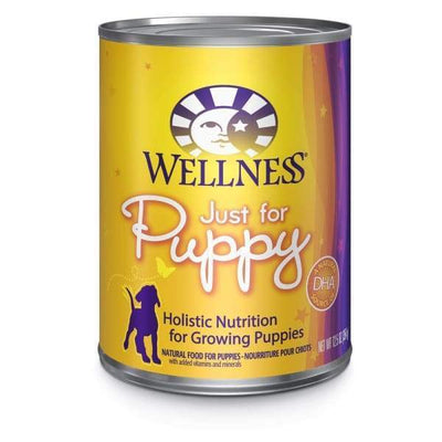 Wellness Wellness Complete Health Just For Puppy Canned Dog Food 354g Dog Food & Treats