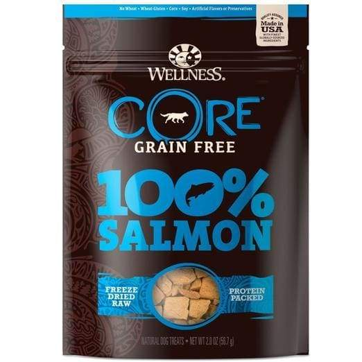 Wellness [15% OFF] Wellness CORE 100% Freeze Dried Salmon Dog Treats 2oz Dog Food & Treats