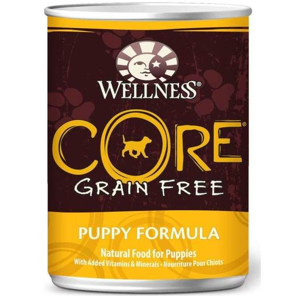 Wellness [20% OFF*] Wellness CORE Grain-Free Puppy Canned Dog Food 354g Dog Food & Treats