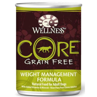 Wellness [20% OFF*] Wellness CORE Grain-Free Weight Management Canned Dog Food 354g Dog Food & Treats